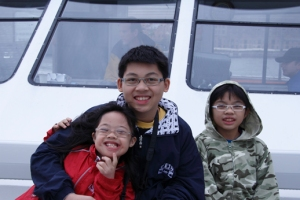 chn on boat