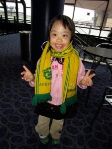 LA n scarf