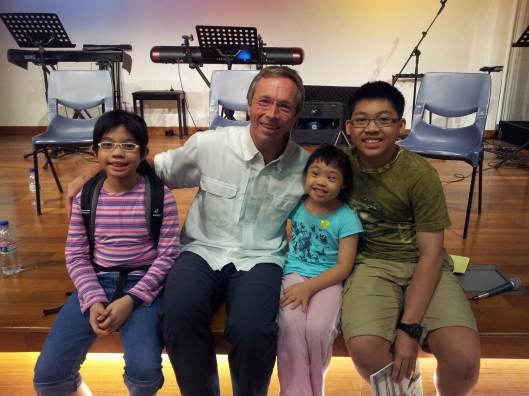 With Uncle Jeff Meyers :)
